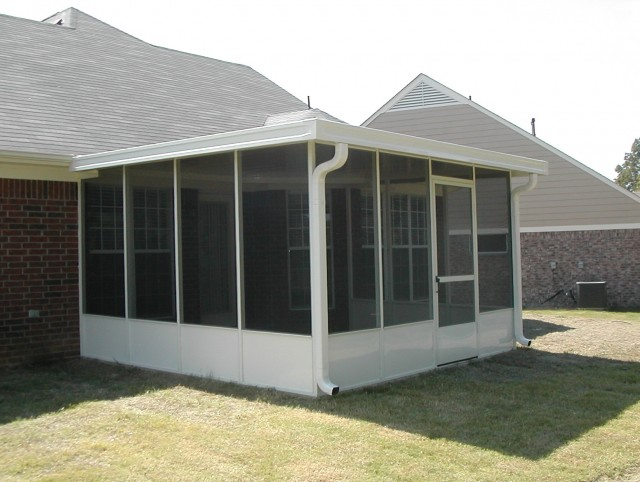 Screen Porch Kit With Roof