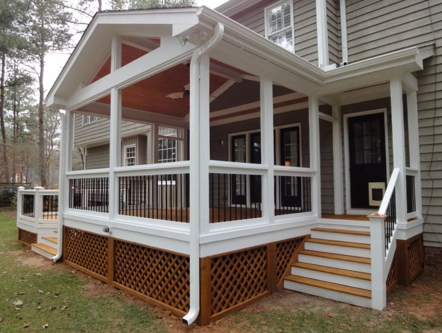 Screen Porch Plans Free