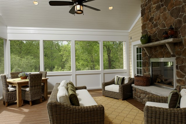 Screened In Back Porch Plans