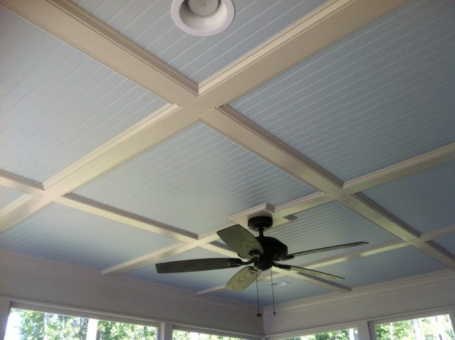 Screened In Porch Ceiling Ideas