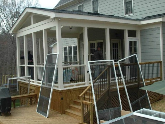 Screened In Porch Designs For Houses