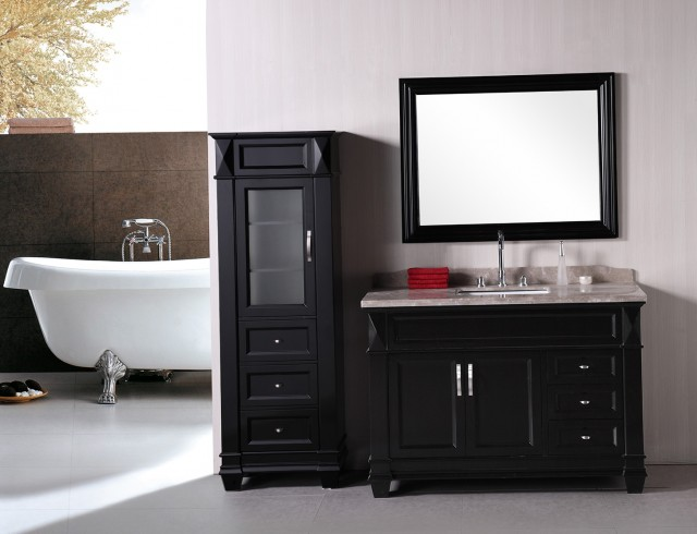 Single Bathroom Vanities With Tops
