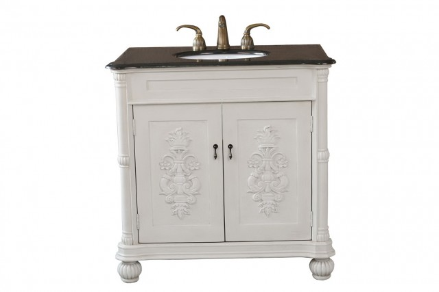 Single Bathroom Vanity White