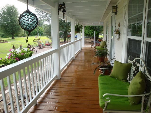 Single Wide Mobile Home Porch Ideas