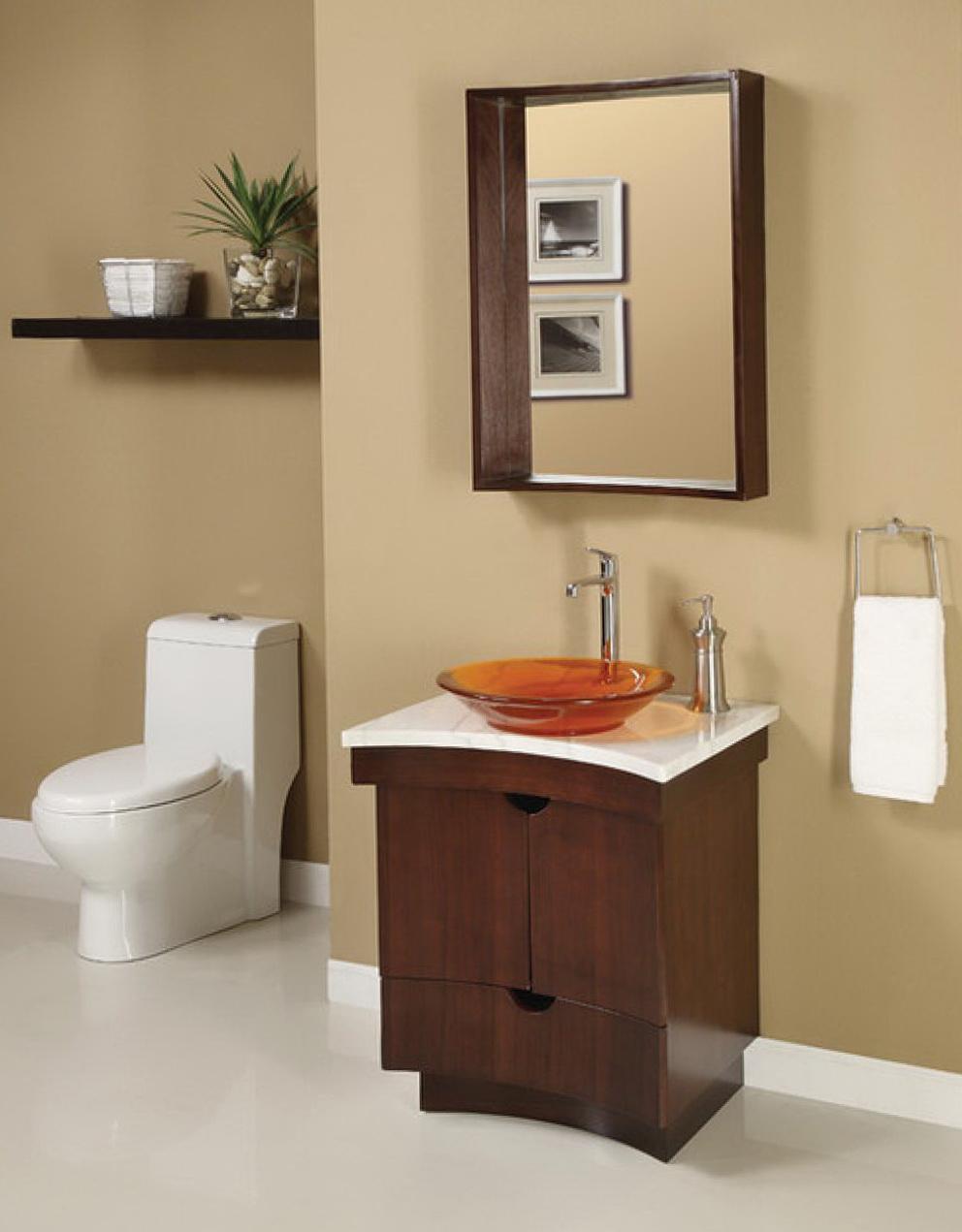 Small Bathroom Vanity Decorating Ideas