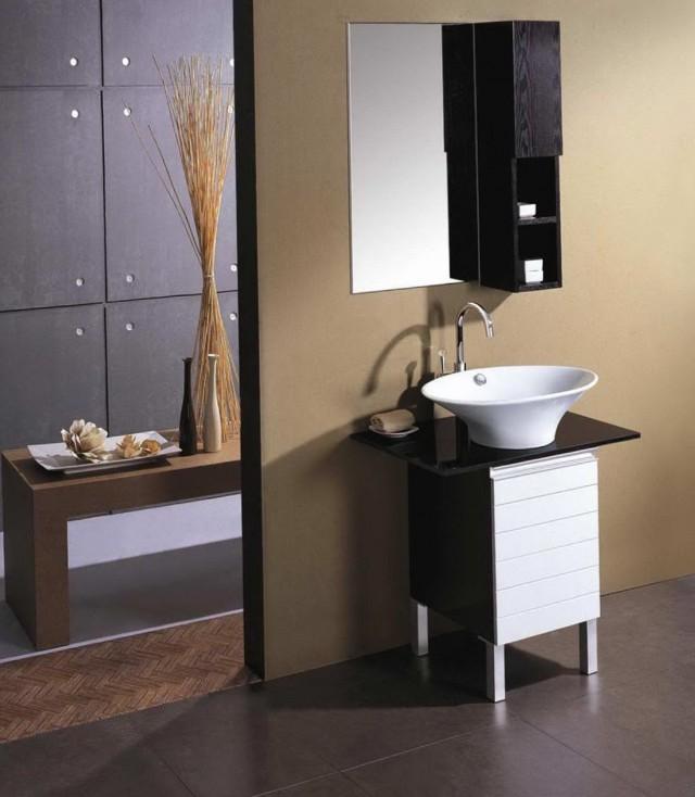 Small Contemporary Bathroom Vanities
