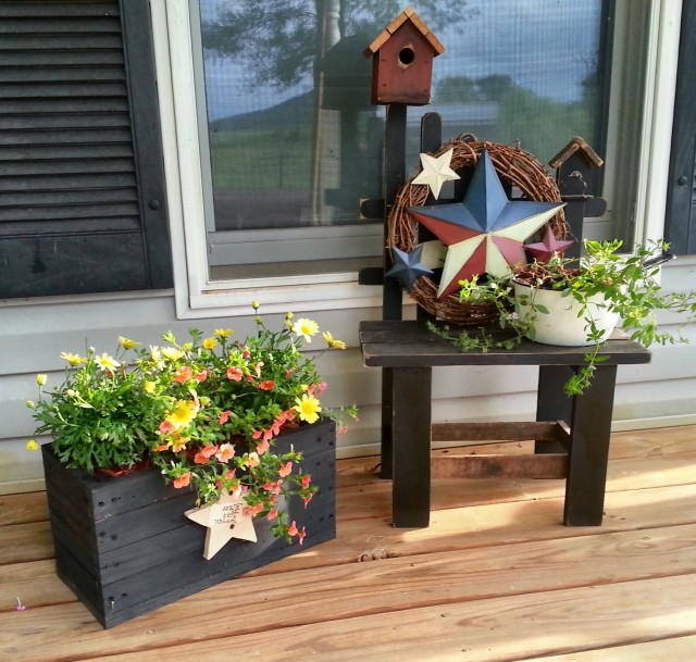 Small Front Porch Decorating Ideas Pinterest