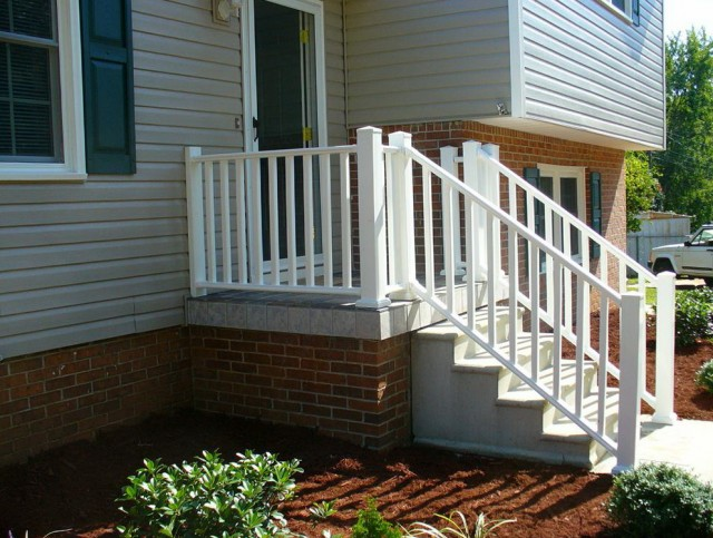 Small Front Porch Railing Ideas