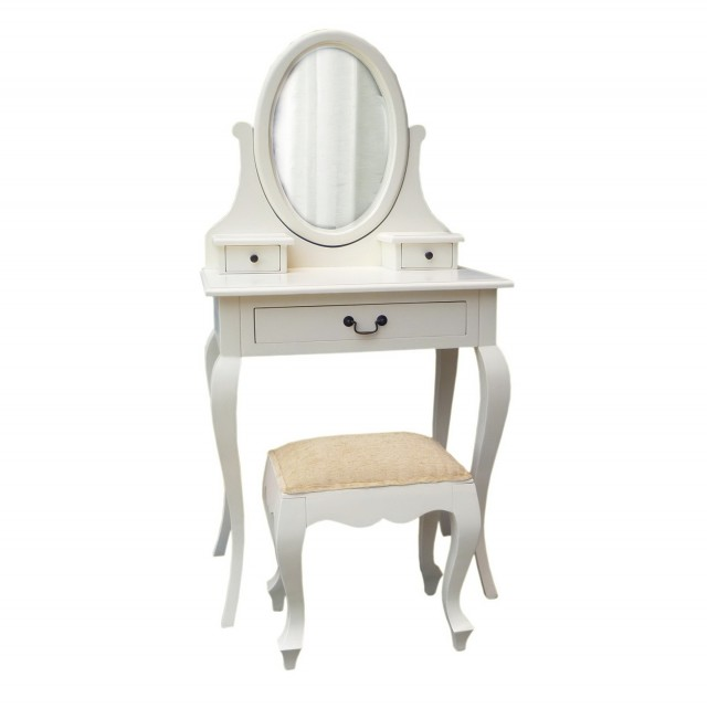 Small Vanity Desk With Mirror