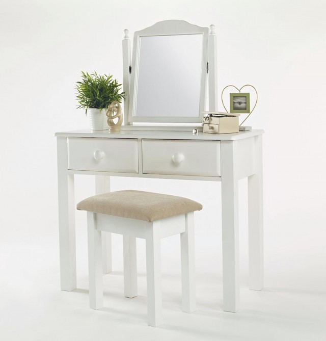 Small White Vanity Table