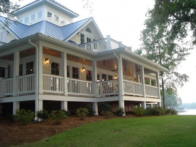 Southern House Plans Wrap Around Porch