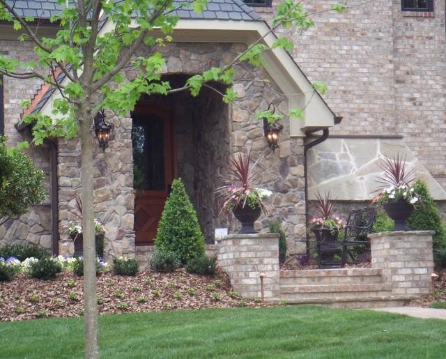Stone Front Porch Steps Designs