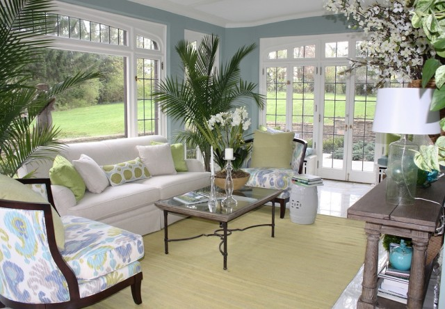 Sun Porch Furniture Layout