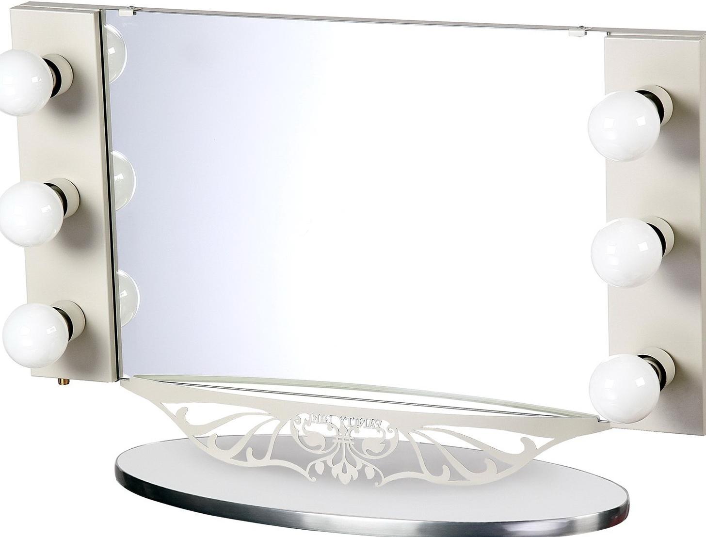 Vanity Girl Hollywood Starlet Lighted Vanity Mirror