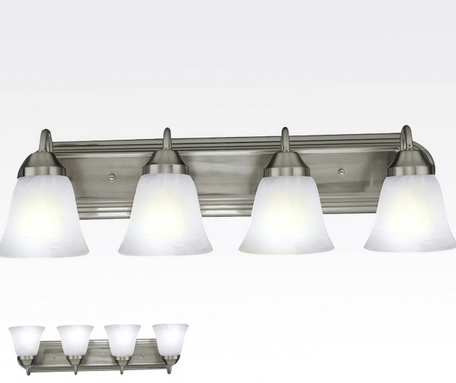 Vanity Light Fixtures Brushed Nickel