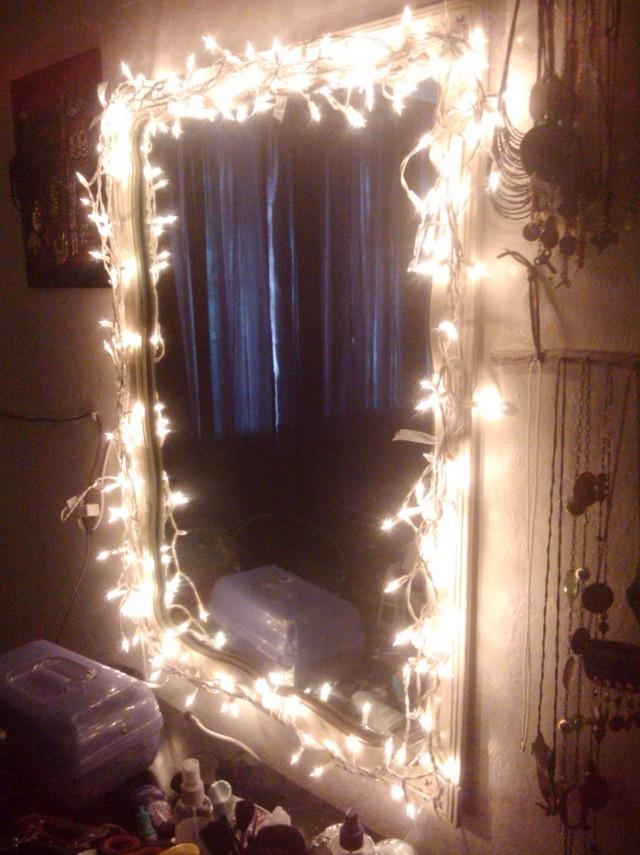 Vanity Mirror With Lights Diy