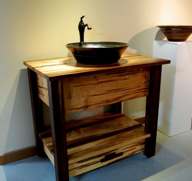 Vessel Sink Vanity Base