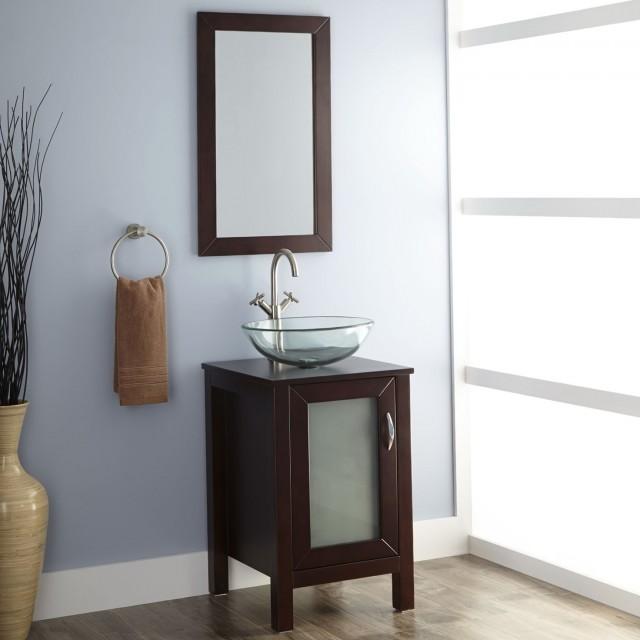 Vessel Sink Vanity Cabinet