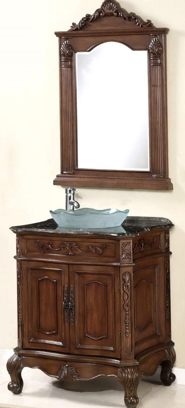 Vessel Sink Vanity Combo