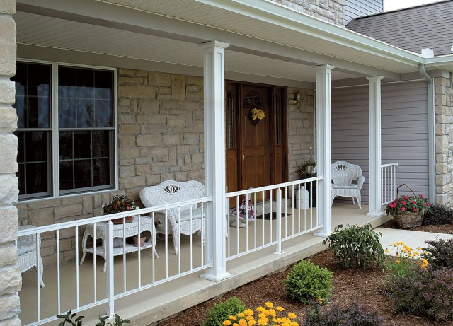 Vinyl Porch Columns And Railings