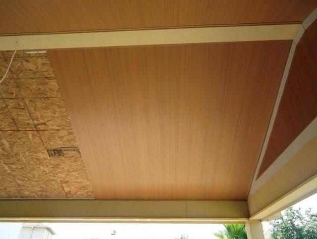 Vinyl Soffit Ceiling Porch