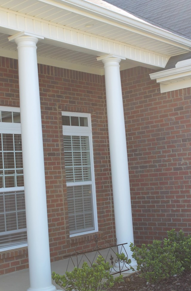Wood Porch Columns Home Depot