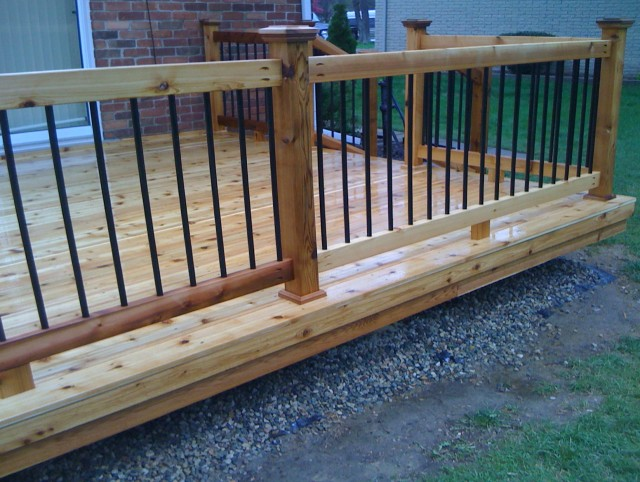 Wood Porch Posts And Railings