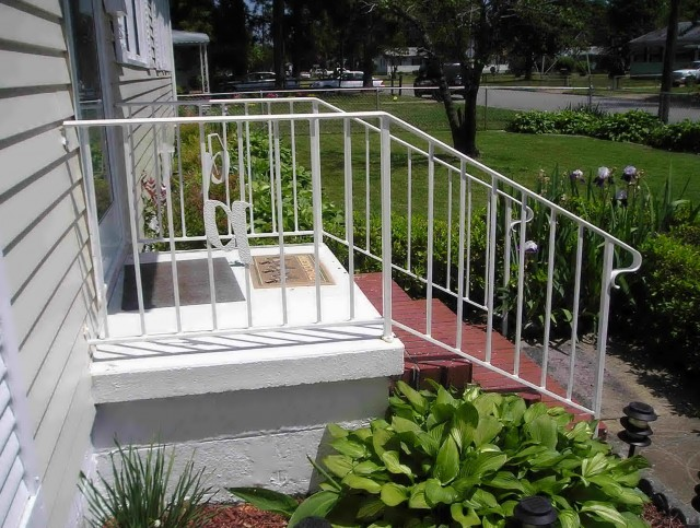 Wood Railings For Front Porch