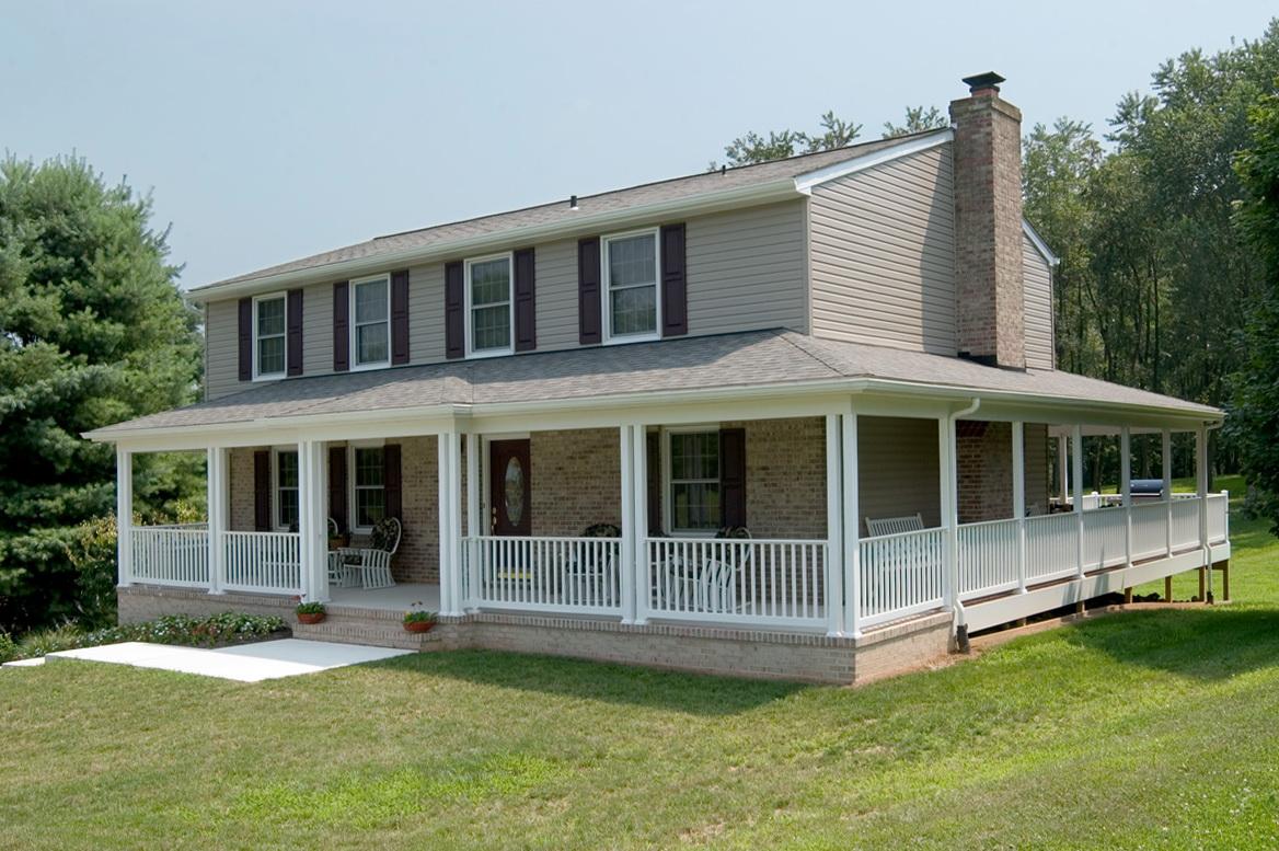 Wrap Around Porch Roof Framing