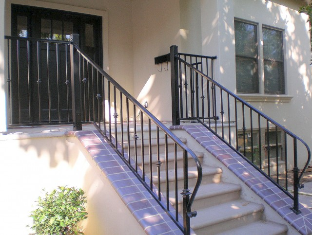 Wrought Iron Front Porch Railings