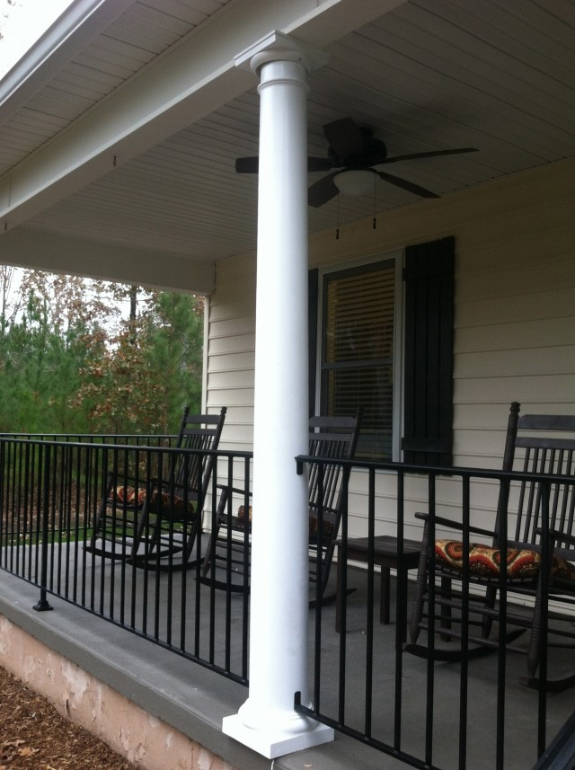 Wrought Iron Porch Columns Lowes