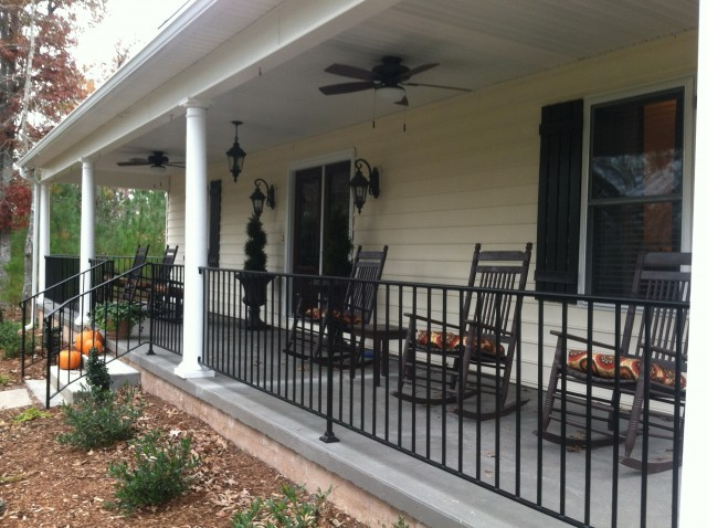 Wrought Iron Porch Railings Cost