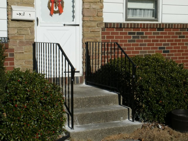 Wrought Iron Porch Railings Design