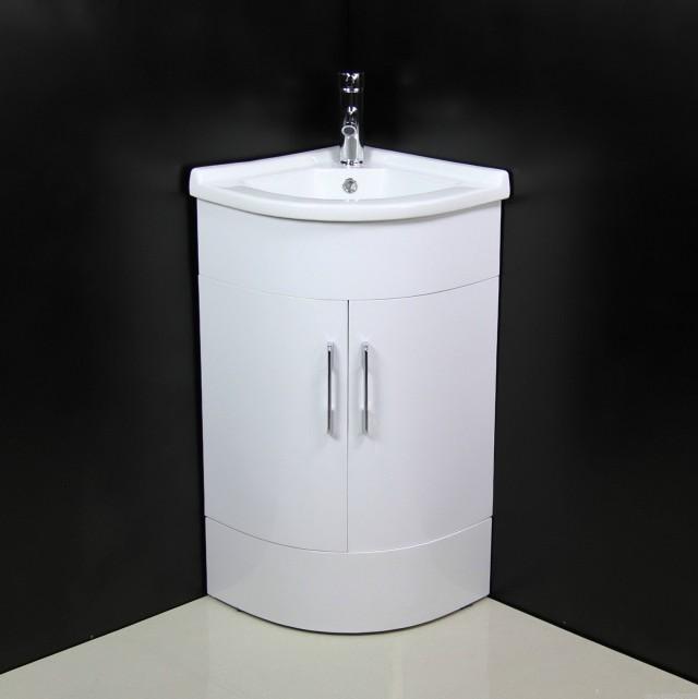 2 Sink Corner Vanity