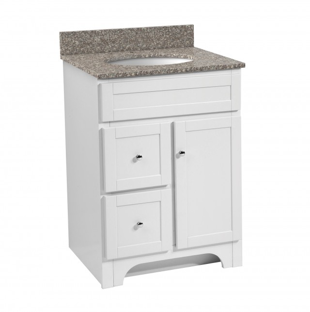 24 Inch Bathroom Vanities White