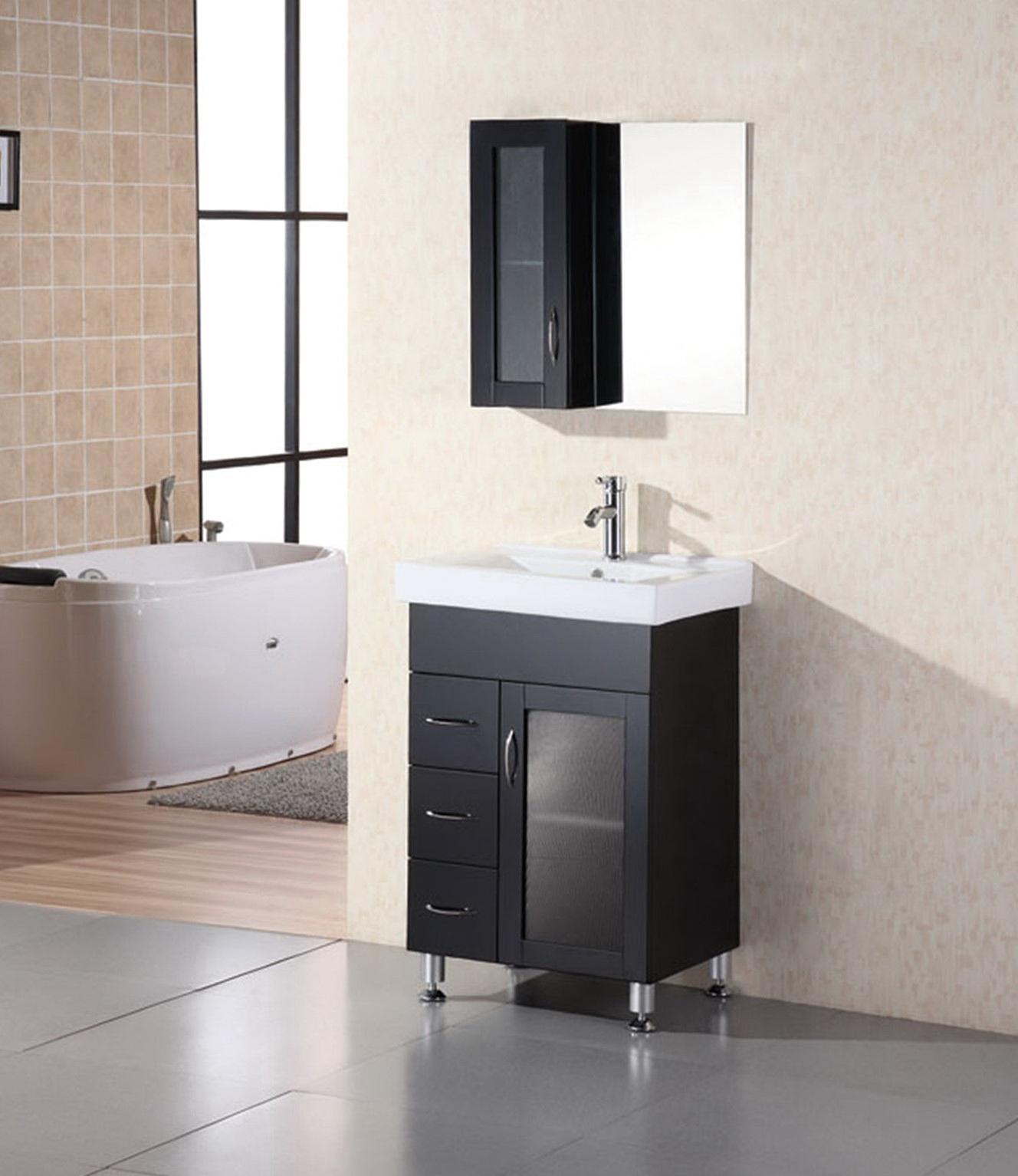 24 Inch Bathroom Vanities With Drawers