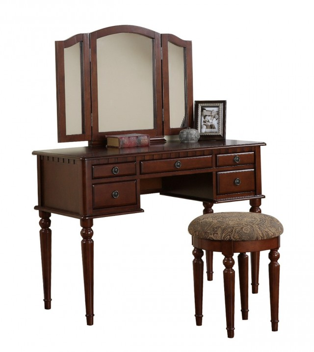 3 Mirror Vanity Table