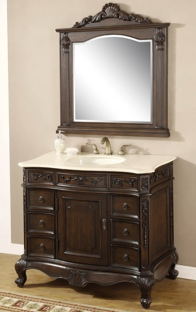 40 Inch Bathroom Vanity With Sink
