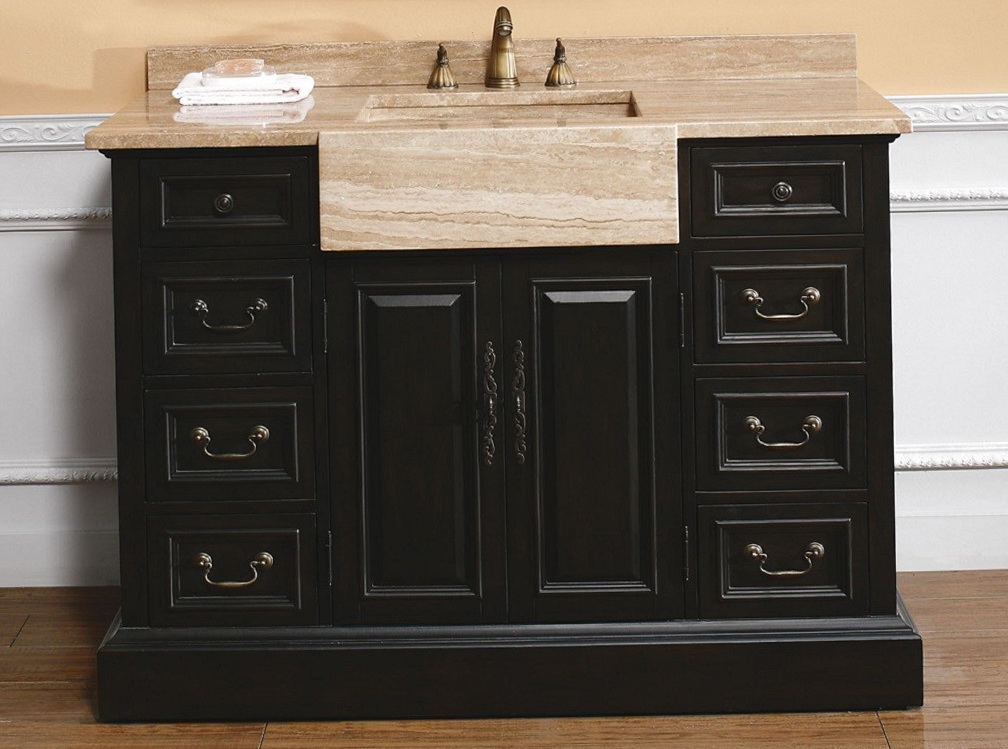 48 Inch Double Sink Vanity Top Only