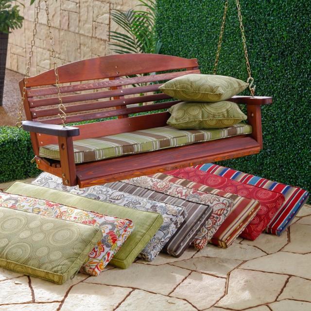 5 Foot Porch Swing Cushions