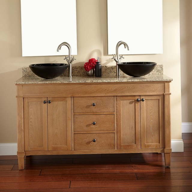 60 Double Sink Bathroom Vanity
