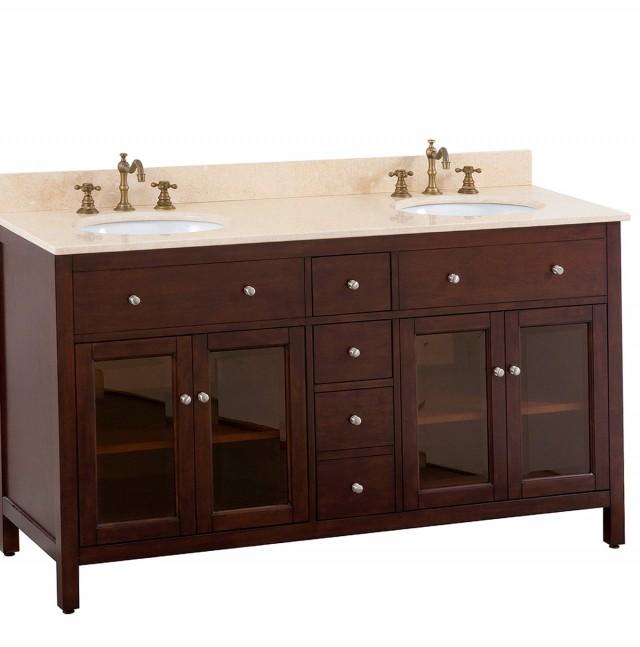 60 Inch Double Sink Vanity Dimensions