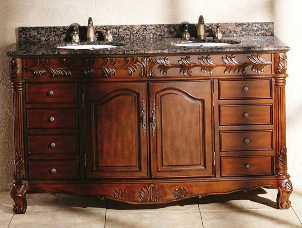 60 Inch Double Sink Vanity Top