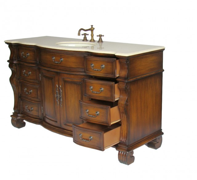60 Single Sink Bathroom Vanity