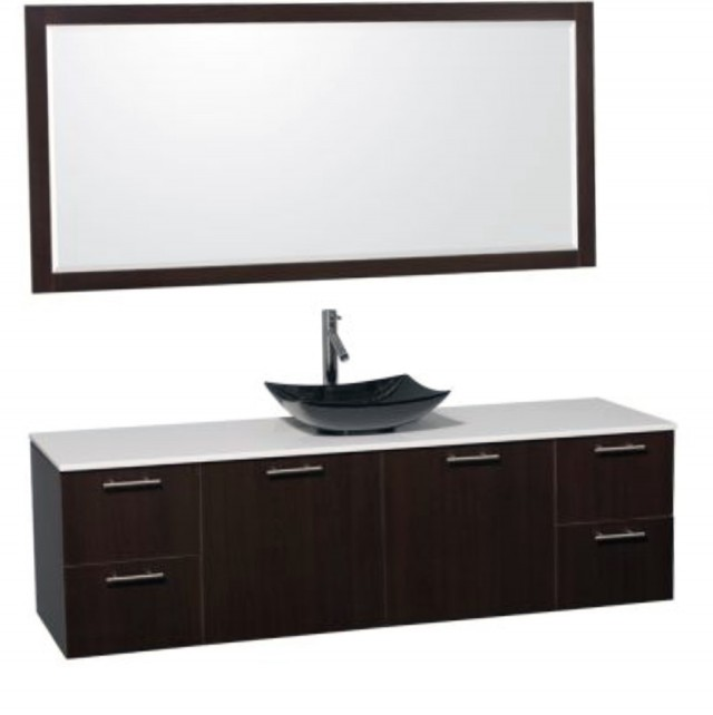 72 Bathroom Vanity Single Sink