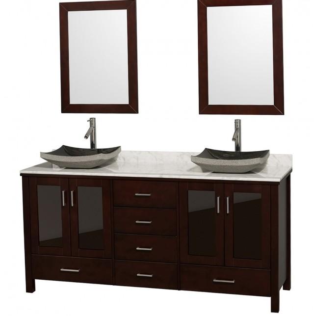72 Double Sink Vanity Top