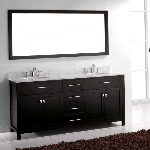72 Double Sink Vanity With Backsplash