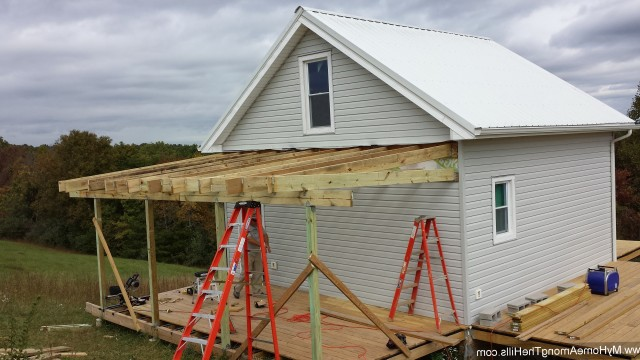 Adding A Porch Roof