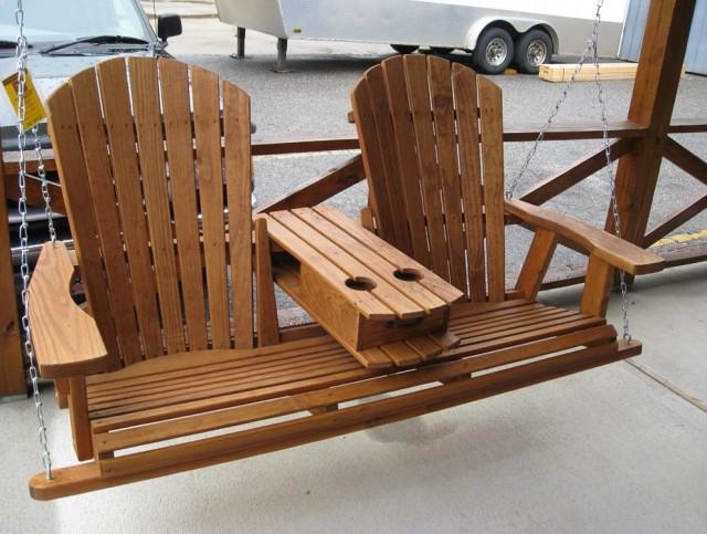 Adirondack Porch Swing Plans