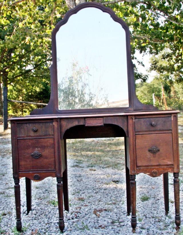 Antique Vanity Set For Sale